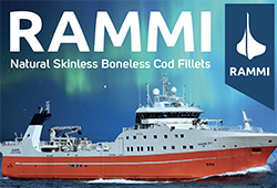Rammi - Natural Skinless Boneless Cod Fillets