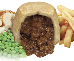 Introducing - NEW Steak Pudding from Greenhalgh's