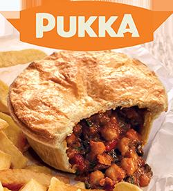 Pukka Launch NEW Veggie Masala Pies