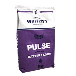 Tony's Talk - Make your Fish far healthier with Whitley's Pulse Batter