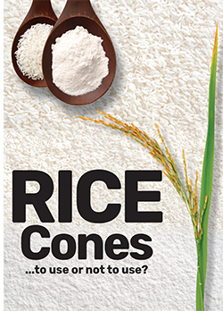 Rice Cones - To Use Or Not To Use
