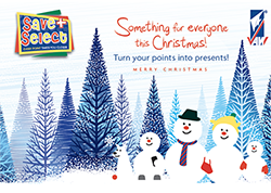 Turn your POINTS into CHRISTMAS PRESENTS with Save & Select!!