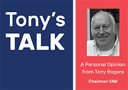 Tony's Talk - Reasons to be Cheerful