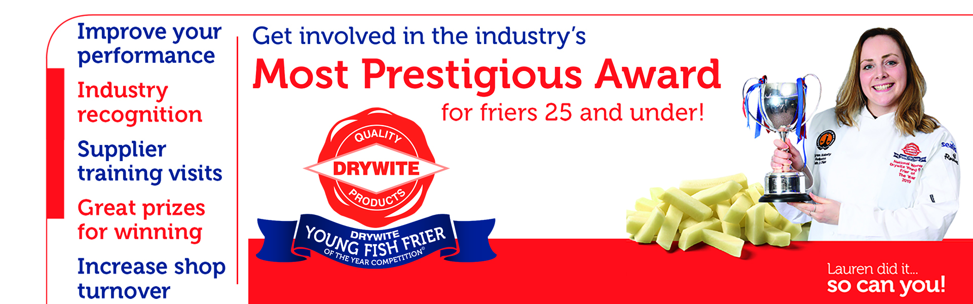 Drywite Young Fish Frier of the Year