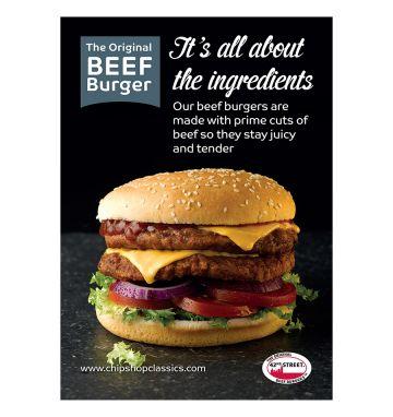 42nd Street Beefburger Poster