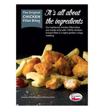 42nd Street Chicken Bites Poster