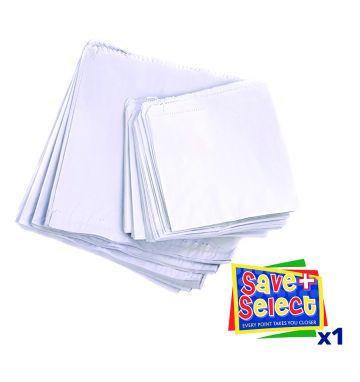 Sulphite Bags - 8.5 x 8.5