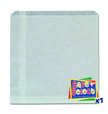 Grease Resistant Bags - 8.5 x 8.5