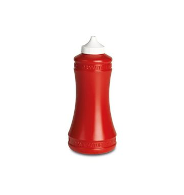 Small Sauce Bottle - Red