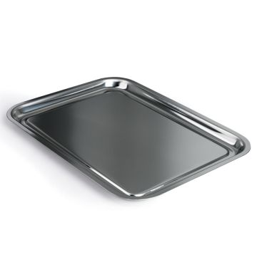 Stainless Steel Tray - 14 x 11""