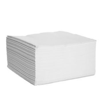 Serviettes 2 Ply White (125)
