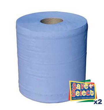 Keep It Clean 2 Ply Blue Barrel Roll