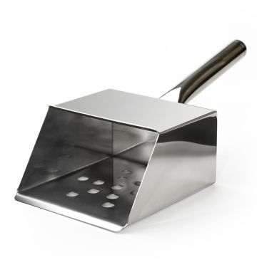 Stainless Steel Portion Control Chip Scoop - Medium