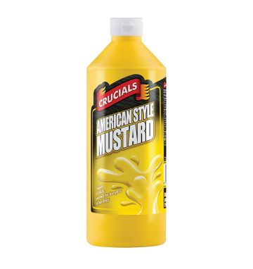 Crucials Squeezy American Mustard