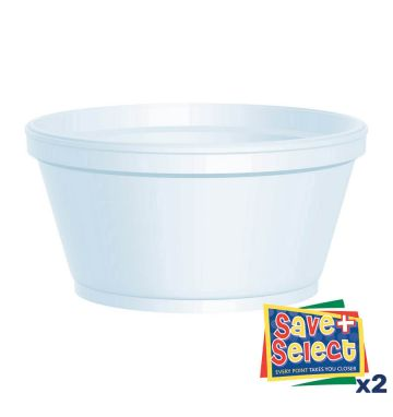 Polystyrene Containers - 8oz