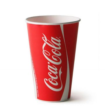 Coca-Cola Paper Cups - 9oz