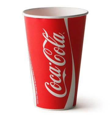 Coca-Cola Paper Cups - 12oz