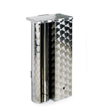 Stainless Steel Combined Cup & Lid Dispenser - 4/6oz Container
