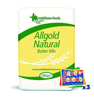 Middletons Allgold Natural Batter Flour