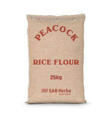 Peacock Brown Bag Rice Flour