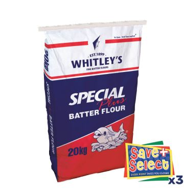 Whitley's Special Plus Batter Flour