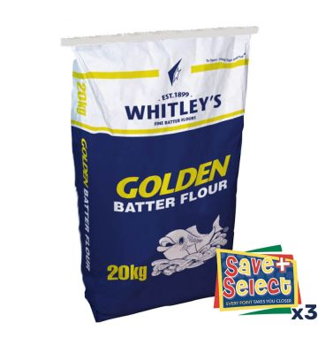 Whitley's Golden Batter Flour