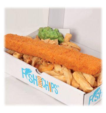Giant Cod Fillet Fish Finger