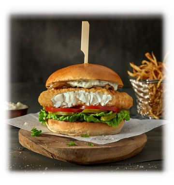 Young's Crispy Fish Burger