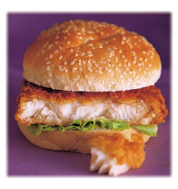 Battered Cod Quarter Pounder