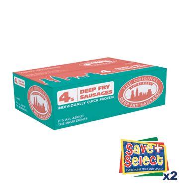 42nd Street Deepfry Jumbo Sausages - 4s