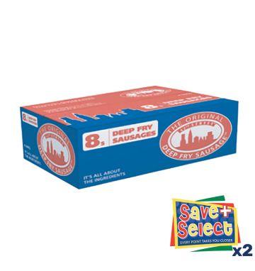 42nd Street Deepfry Jumbo Sausages - 8s