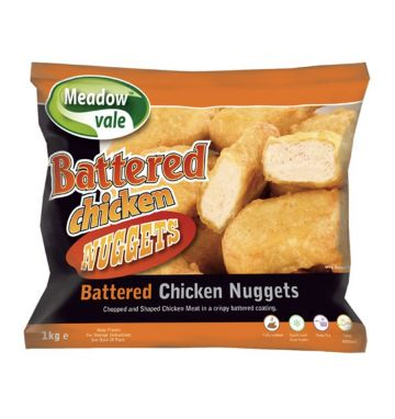 Meadowvale Battered Chicken Nuggets