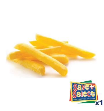 Lutosa Straight Cut Freeze/Chill Chips - 7/16