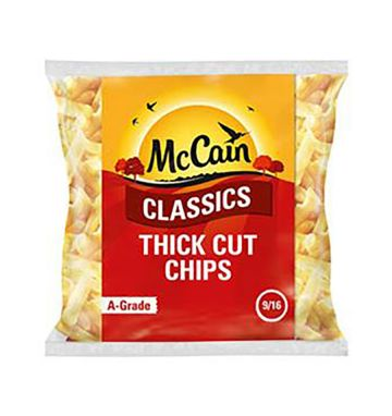 McCain Classic Thick Cut Chips 9/16 14mm
