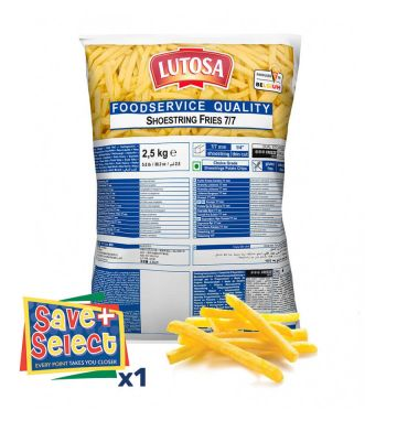Lutosa Shoestring Cut Chips 7mm