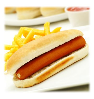 "Kara 7"" Hot Dog Rolls"