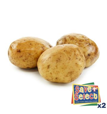 Pre-Cooked Jacket Potatoes - 10/12oz