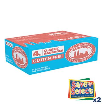42nd Street Classic Sausages 4s - Gluten Free