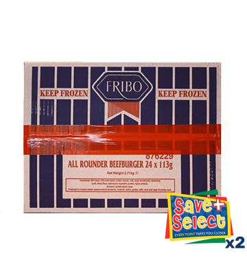 Fribo 80% All Rounder Burgers