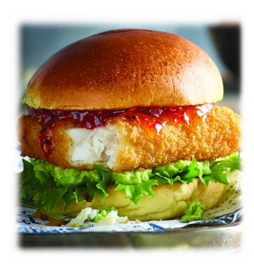 Whitby Southern Fried Pollock Fillet Burger
