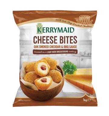 Kerrymaid Cheese Bites - Oak Smoked Cheddar & BBQ Sauce