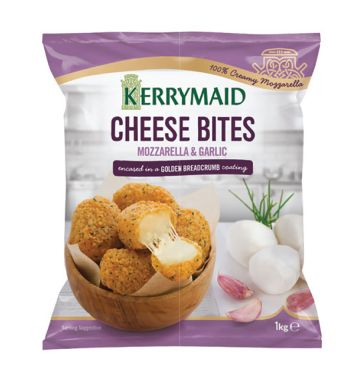 Kerrymaid Cheese Bites - Mozzarella and Garlic