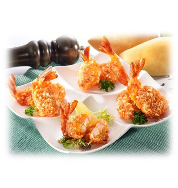 Pacific West Uncooked Chilli Mango Prawns