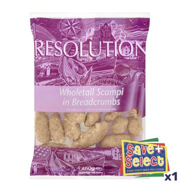 Whitby Resolution Breaded Wholetail Scampi