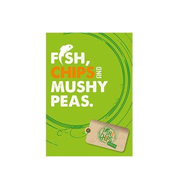 Hook & Fish Mushy Peas Poster
