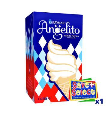 Angelito Vanilla Flavour Ice Cream Mix