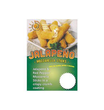 Jalapeno Mozzarella Sticks Poster