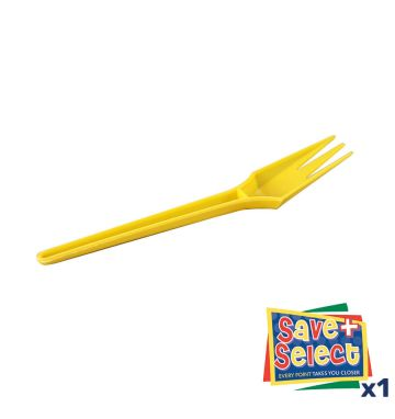 Whitley's Fri Forks - Yellow