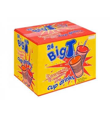 Big Time Cup Drinks - Orange / Raspberry