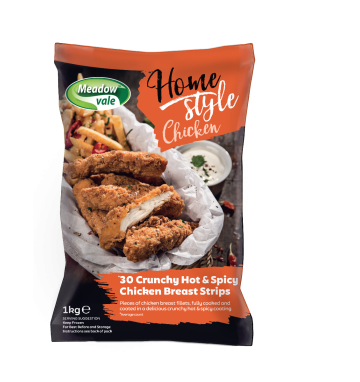 30 Homestyle Hot & Spicy Chicken Strips
